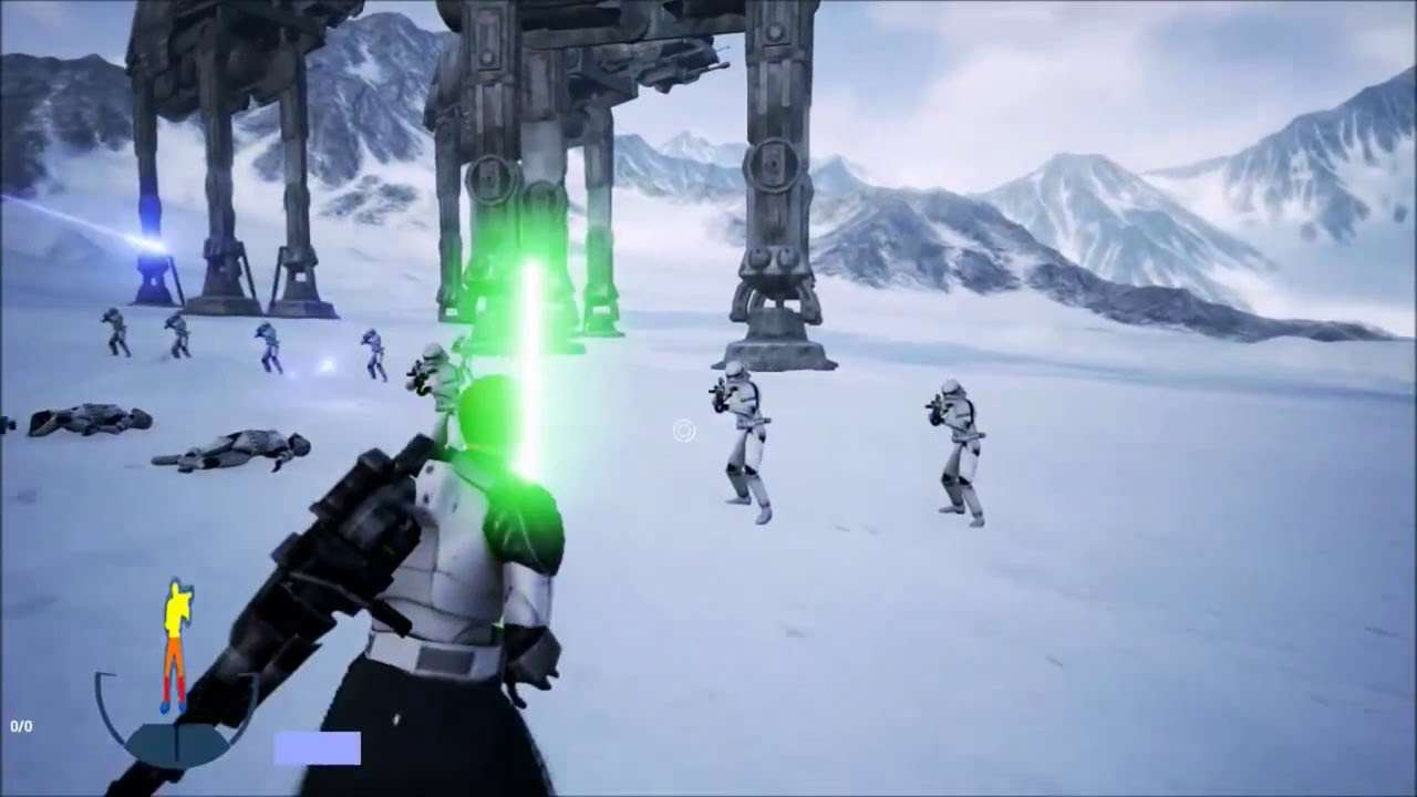 maxresdefault 7 Great News For The Star Wars Battlefront 3 Fan Remake
