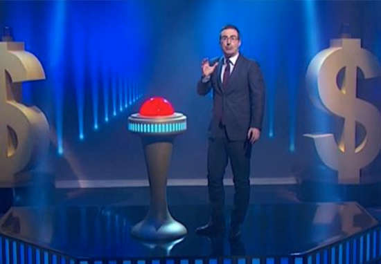oliver1 John Oliver Makes TV History With Astounding Act Of Charity