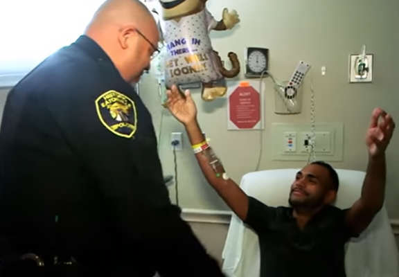 orlando web thumb Heartwarming Moment Orlando Shooting Survivor Reunites With Officer Who Saved Him