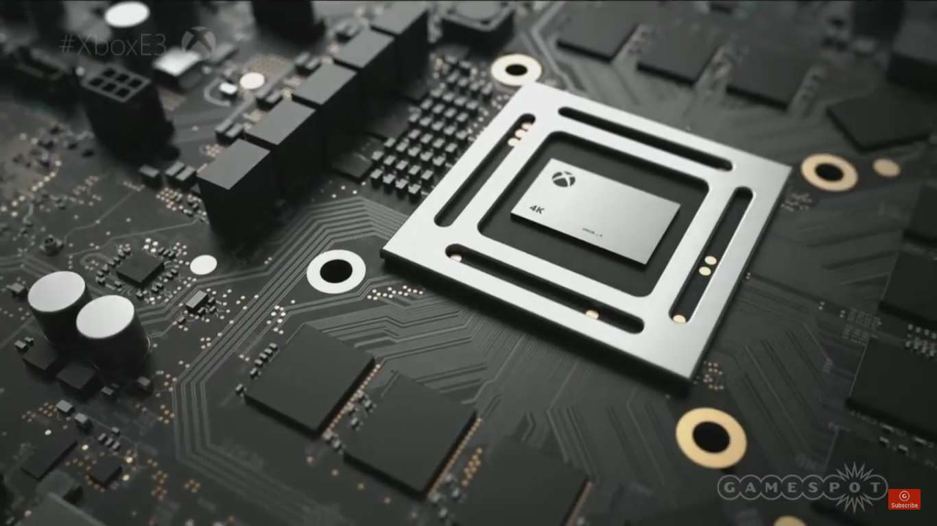 scorps Microsoft Officially Announce 4K Ready Project Scorpio