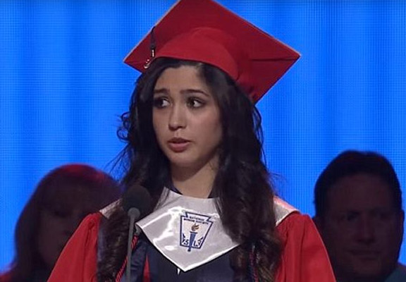 valedictorian featured This Girls Graduation Speech Just Went Viral For Powerful Reason