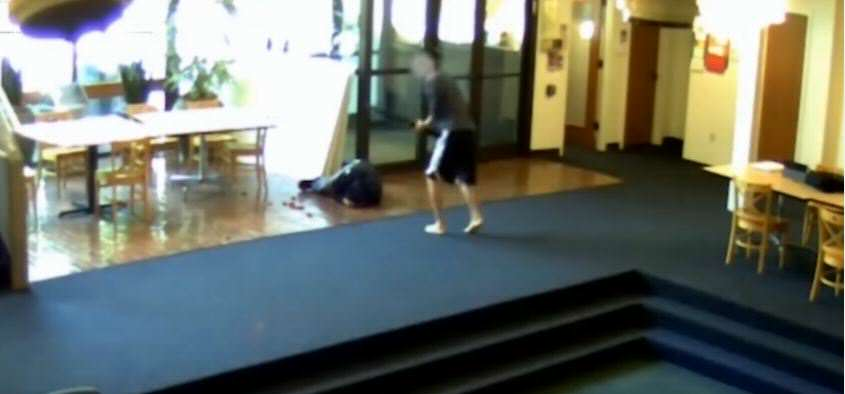 video 2 Footage Shows Student Take Down Gunman At School Shooting
