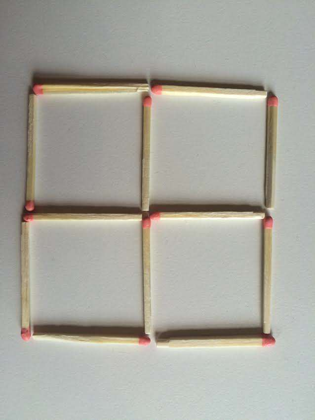 1 This Toothpick Puzzle Is Confusing The Sh*t Out Of The Internet