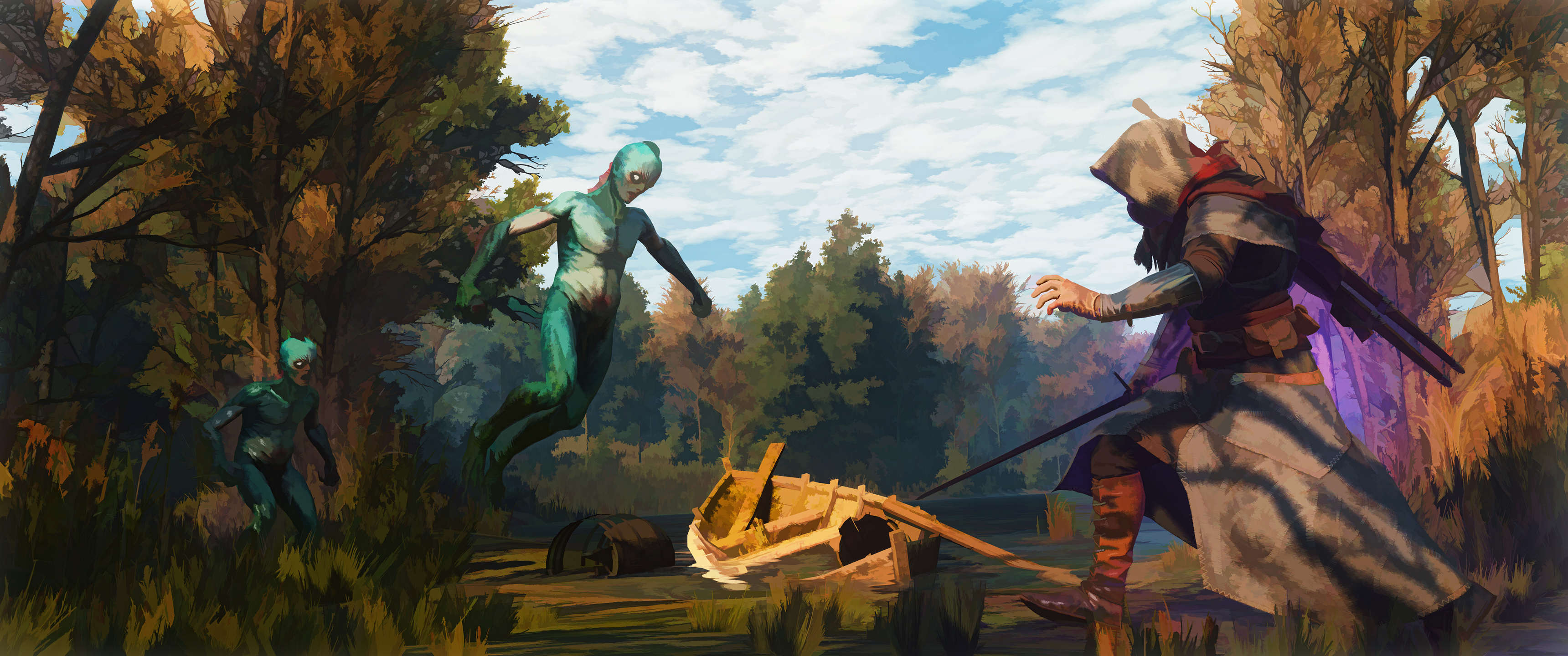 This Guy Turned His Witcher 3 Screenshots Into Works Of Art CTA9COm 1