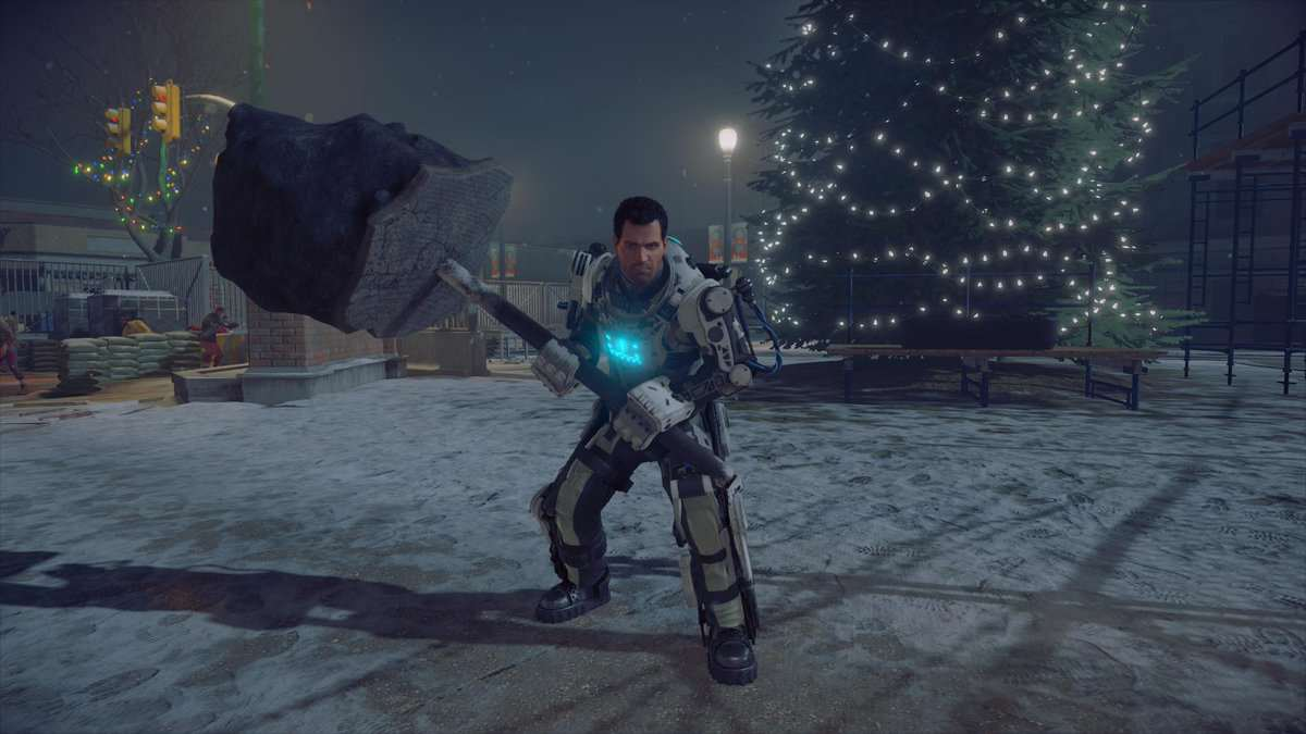 Dead Rising 4 christmas tree mech suit Dead Rising 4 Producer Reveals Awesome New Details
