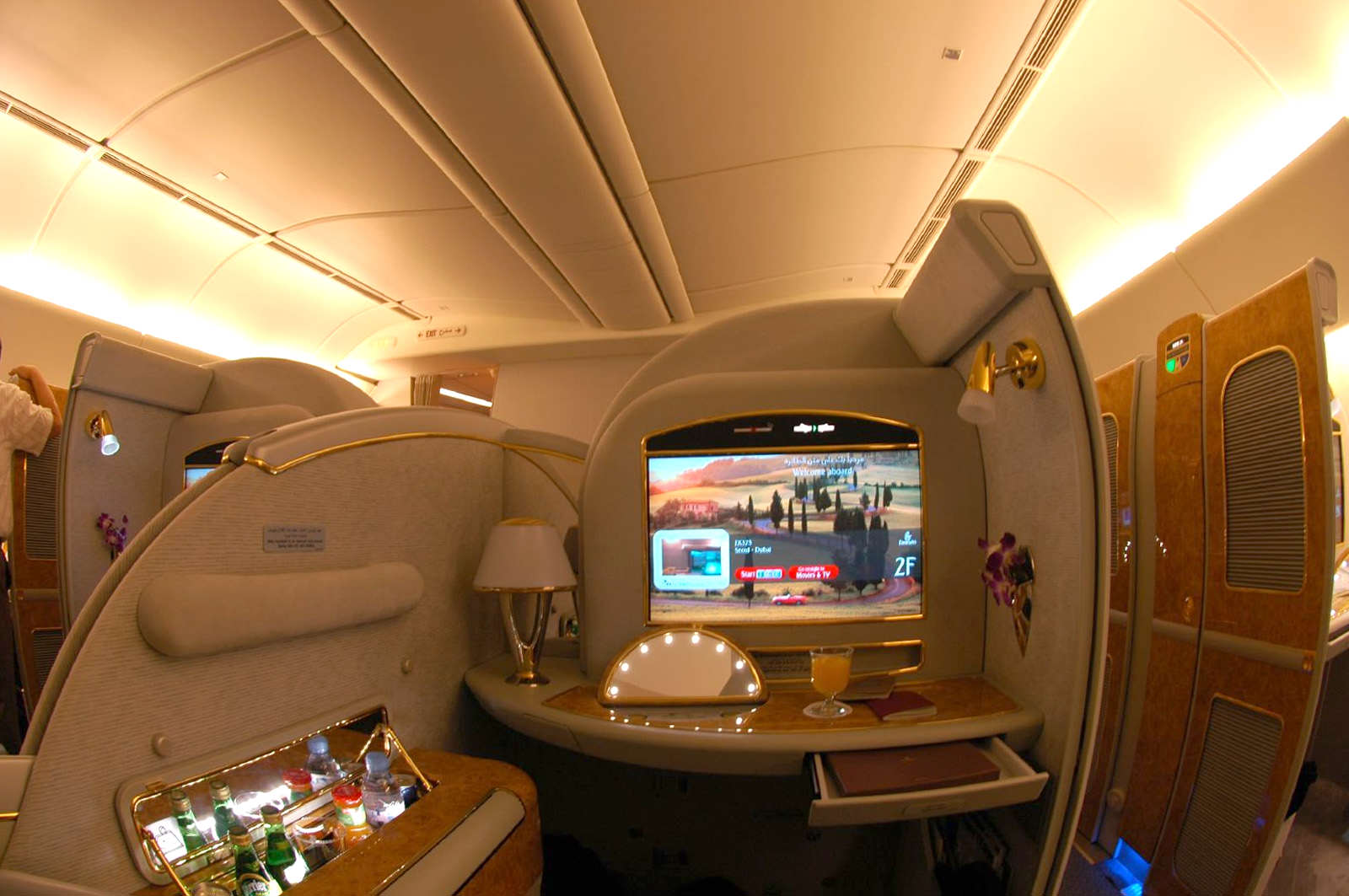 Emirates Boeing 777 200LR First Class Suite