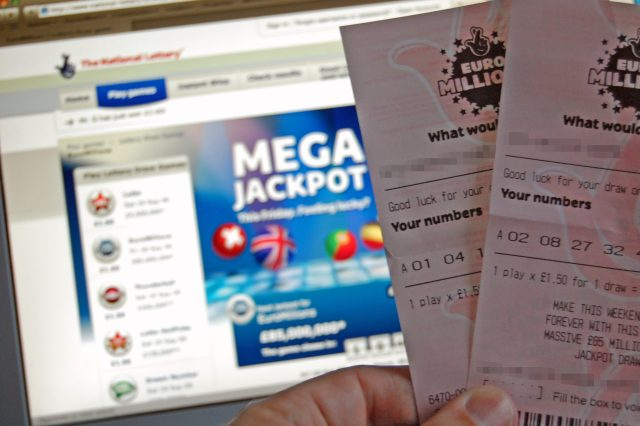 EuroMillions tickets 640x426 Man Who Won £14 Million On Lottery Makes Surprising Decision