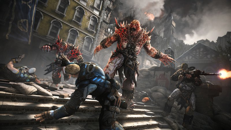 Gears of War 4 mulitplayer beta art Gears Of War 4 Has A Stack Of Exclusives On PC