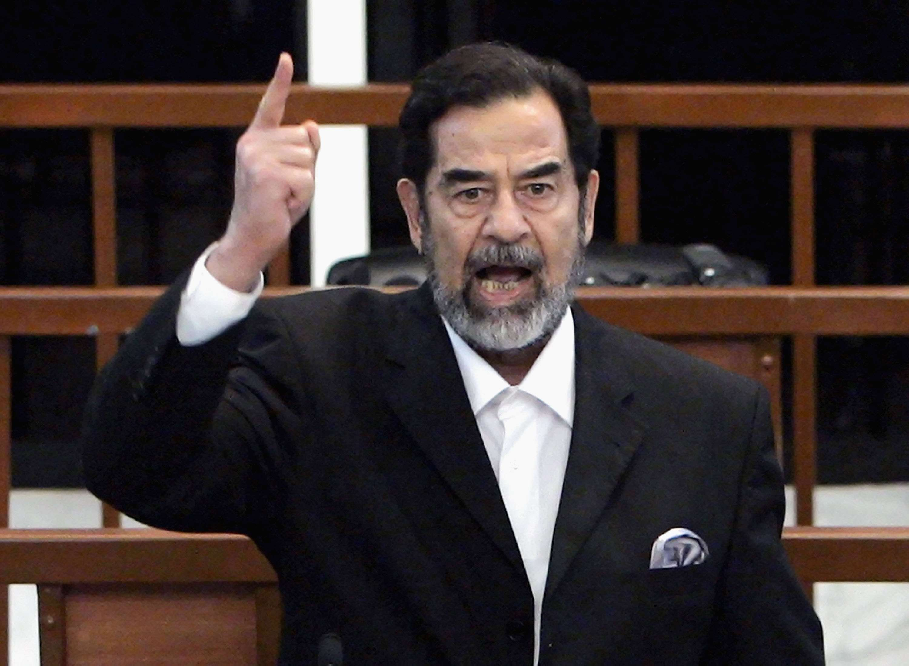 GettyImages 72410384 Donald Trump Criticised After Bizarrely Praising Saddam Hussein