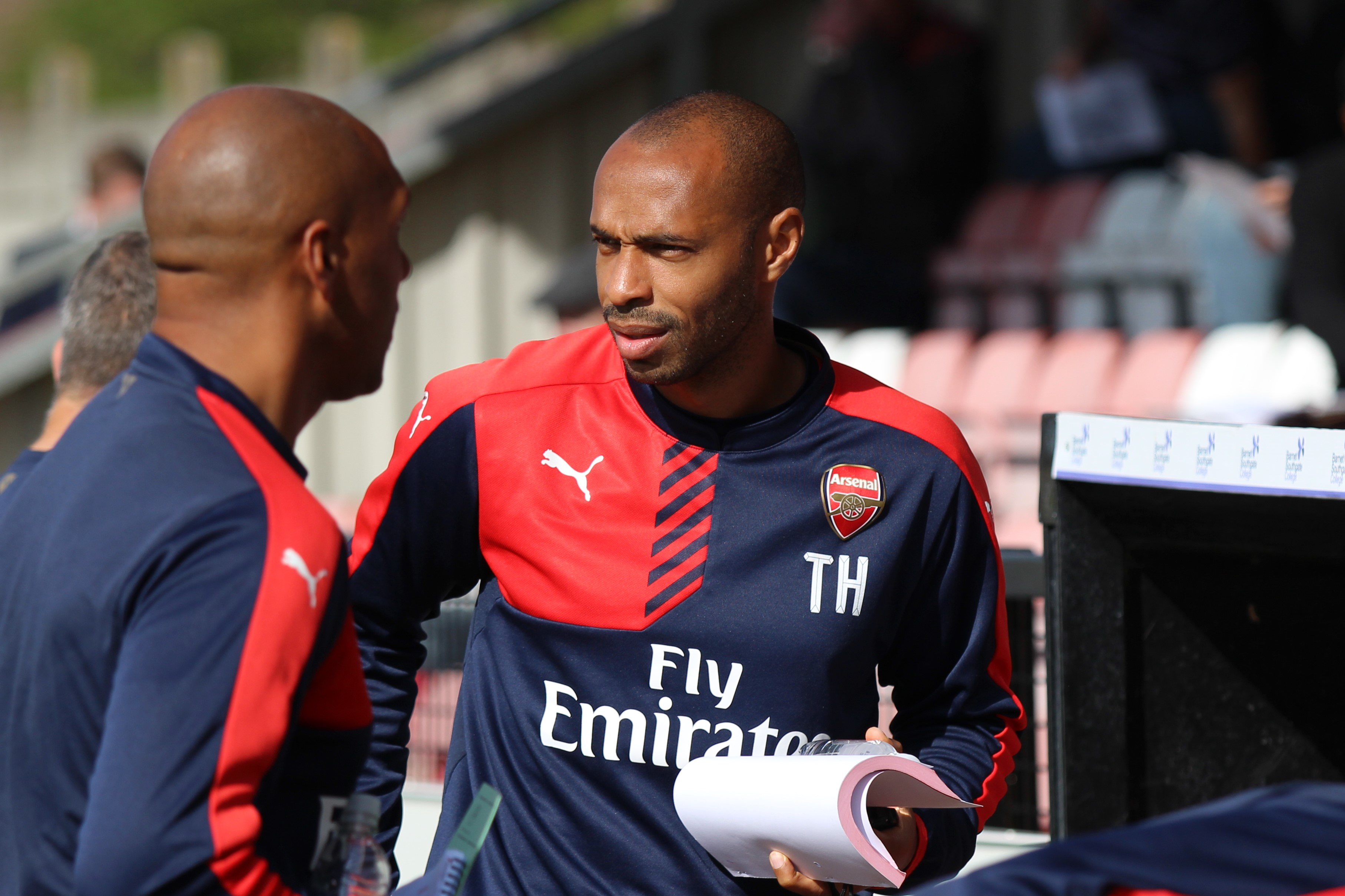 Henry coaching wikimedia Sky Defend Henry After Wenger Row With Saltiest Ever Statement