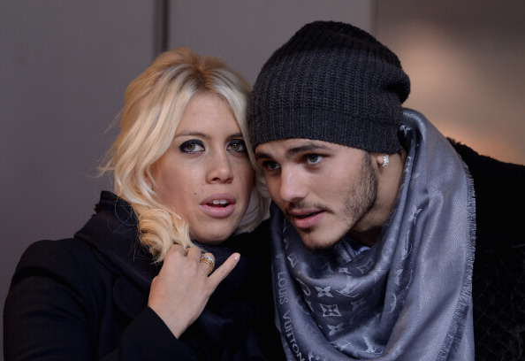 Coveted Strikers Agent Hands Hope To London Trio Icardi Wanda Nara Getty
