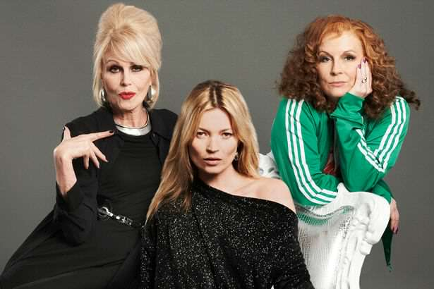 Kate Moss will die on the big screen in the new Absolutely Fabulous movie Absolutely Fabulous: The Movie, Flamboyant Fun But Not Fabulous