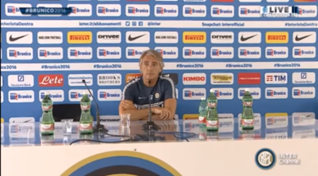 Mancini Press Conference Mancini Avoids Icardi Transfer Talk With Very NSFW Comment