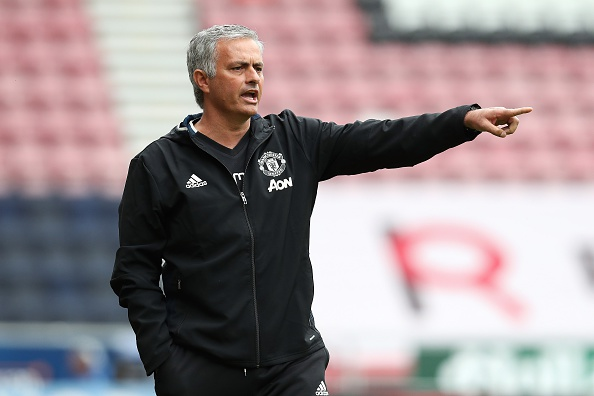 Mourinho Set To Axe Trio Of United Kids Despite Promises Mourinho Getty Pre Season 1