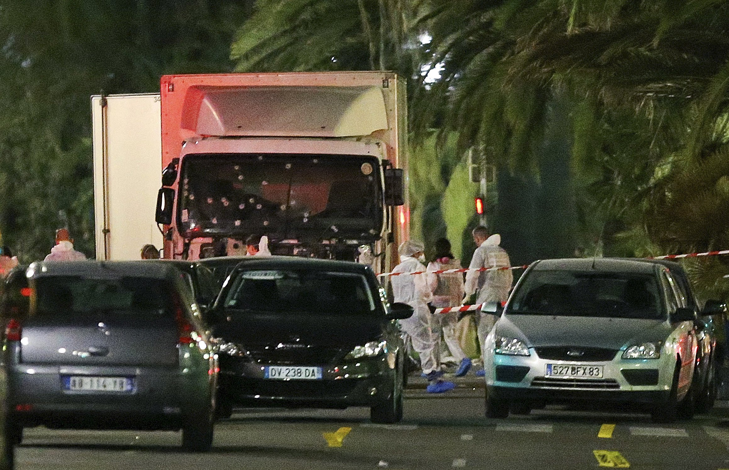 Video Shows Moment Nice Terrorist Shot Dead By Heroic Officers Nice1