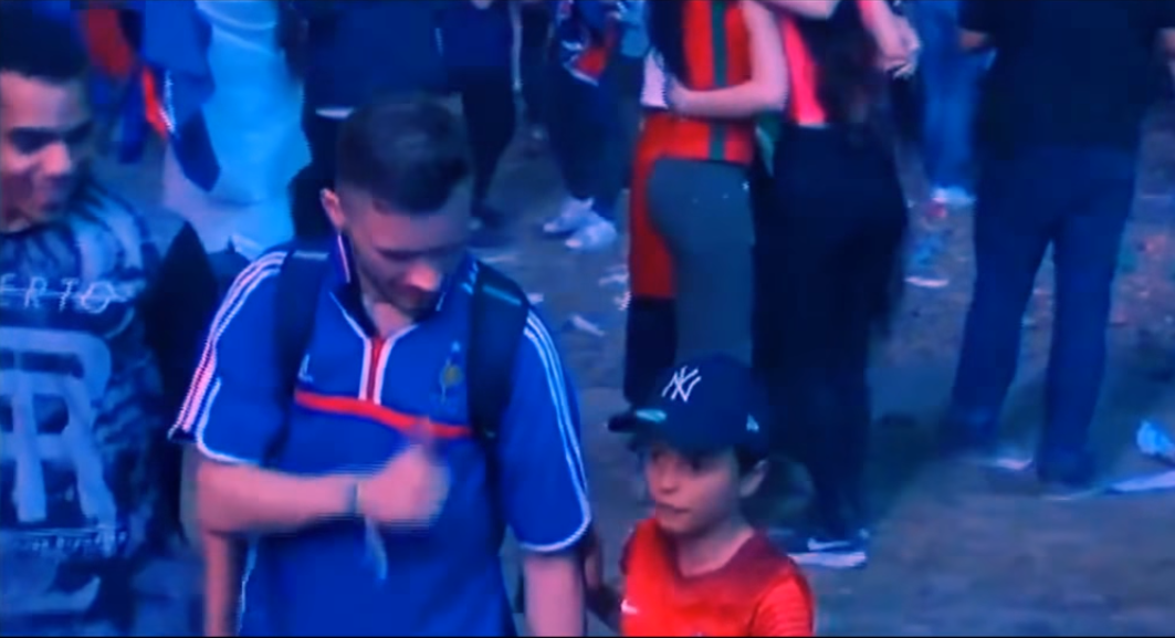 Portugal French Fan Young Portugal Fan Wins Everyones Heart After Best Act Of Euros
