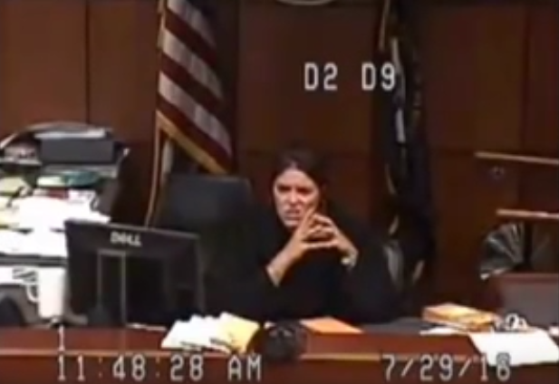 Screen Shot 2016 07 31 at 11.18.37 Jail Sends Woman To Court With No Pants, Judge Goes Ballistic