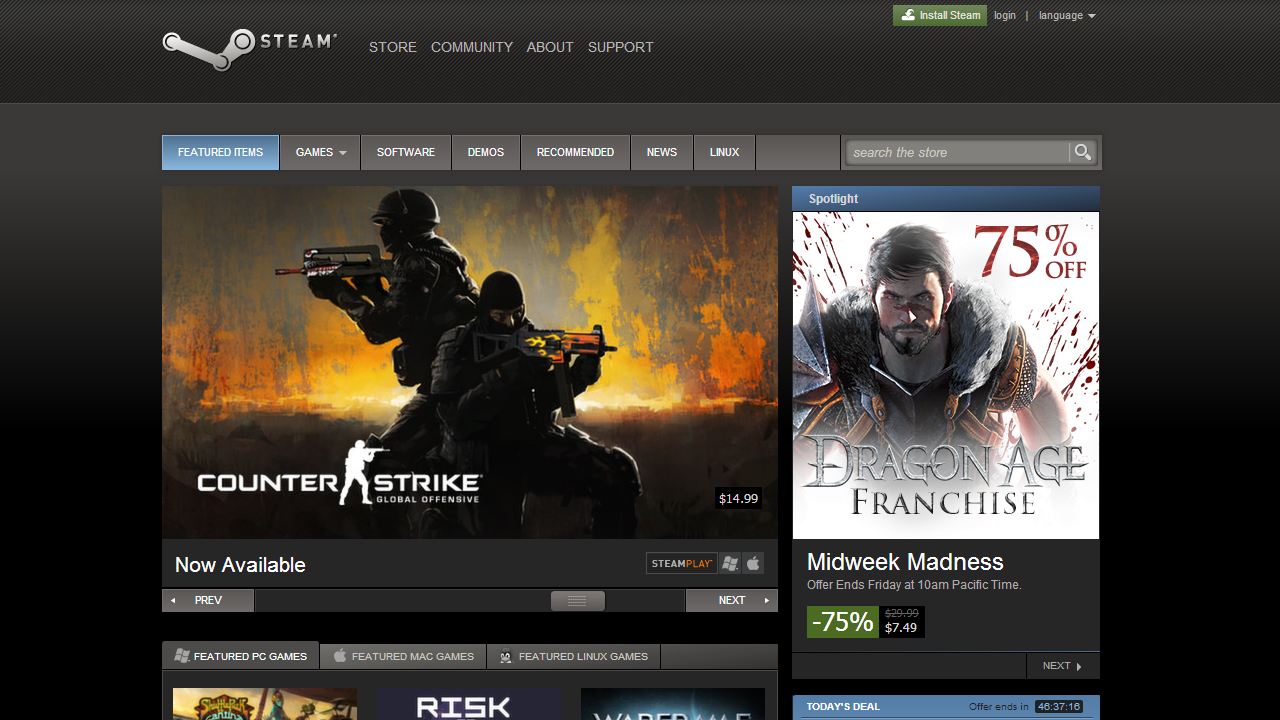 SteamStore Game Dev Thinks Microsoft Wants To Sabotage Steam