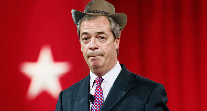 farage im a celeb wt Nigel Farage Offered Serious Cash To Do Im A Celebrity