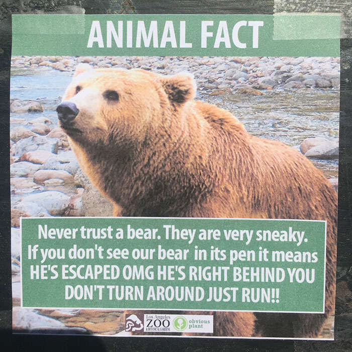 funny animal facts fake los angeles zoo obvious plant 2 5776743e588ec  700 Prankster Brilliantly Trolls Zoo With Made Up Animal Facts