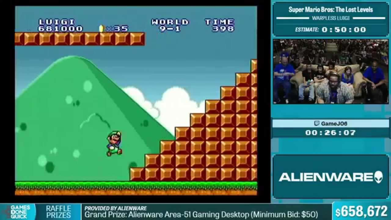 games done quick 2016 Speedrunning Event Raises Incredible Amount For Charity