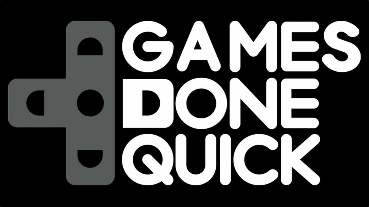 games done quick logo Speedrunning Event Raises Incredible Amount For Charity