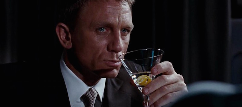 james bond martini James Bond Is Actually Just A Psychopath, And Heres Why