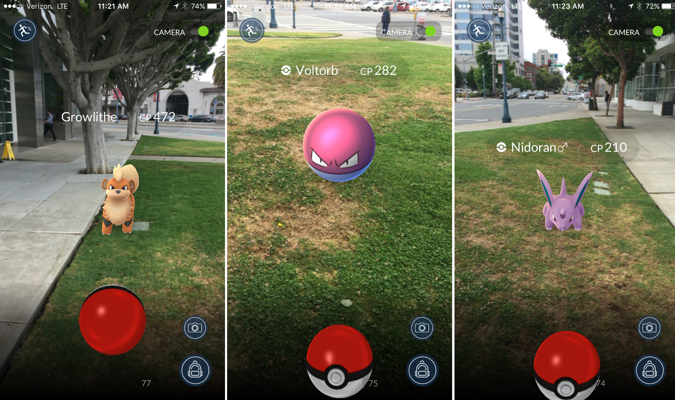 pokemon go nick statt screenshots 1.0 1 Watch The Moment A Pokemon GO Player Drives Into Cop Car