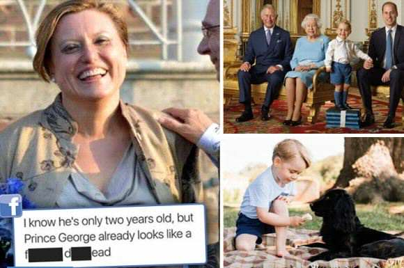 prince george headline The Sun Publicly Shames Woman For These Prince George Comments