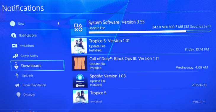 ps4 3.55 update notes Massive PS4 System Update Beta Coming Soon