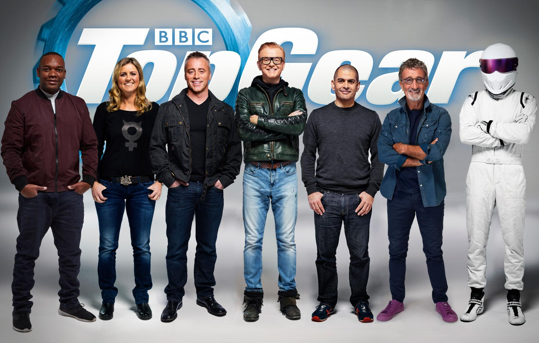 tg  line up maincloser af1 Chris Evans' Top Gear Actually Outperformed Clarkson's
