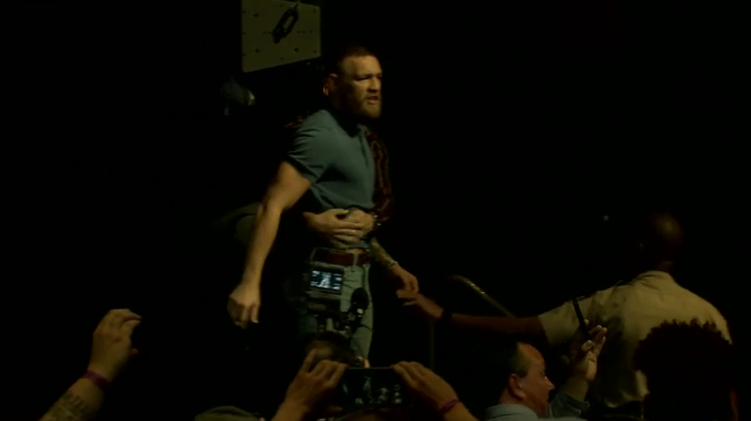 1 2 The McGregor And Diaz Press Conference Was Mental