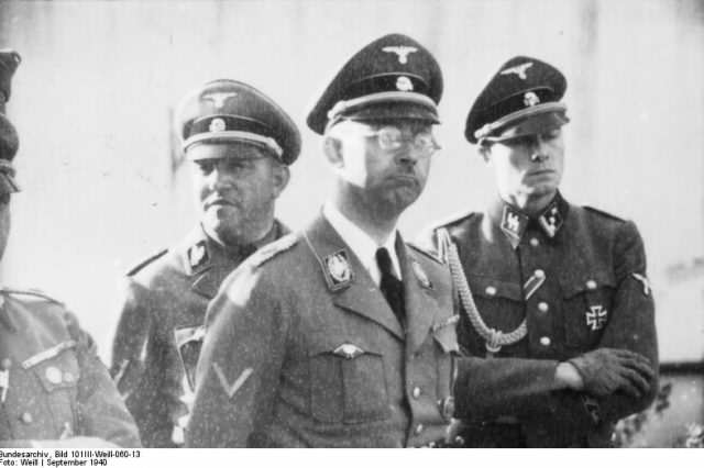 Bundesarchiv Bild 101III Weill 060 13 Metz Heinrich Himmler 640x426 Newly Discovered Journals Give Horrifying Insight Into Man Behind The Holocaust