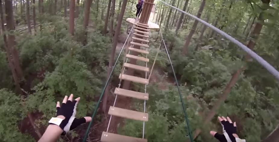 Capture 9 Woman Plunges 40ft To Death After Falling From Zip Line Attraction