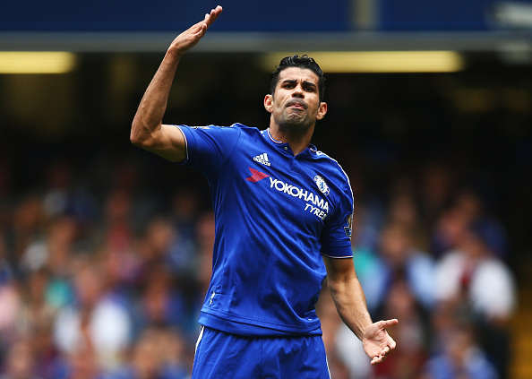 Diego Costa Gets Into Most Bizzare Fight Yet During Pre Season Costa Getty Angry
