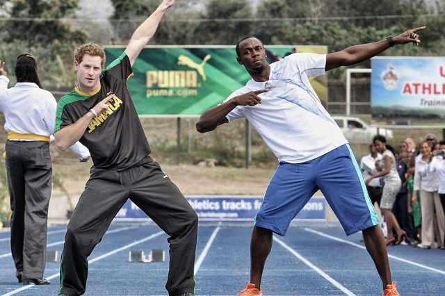GettyImages 158710641 640x426 Prince Harry Challenges Usain Bolt In Twitter Tease