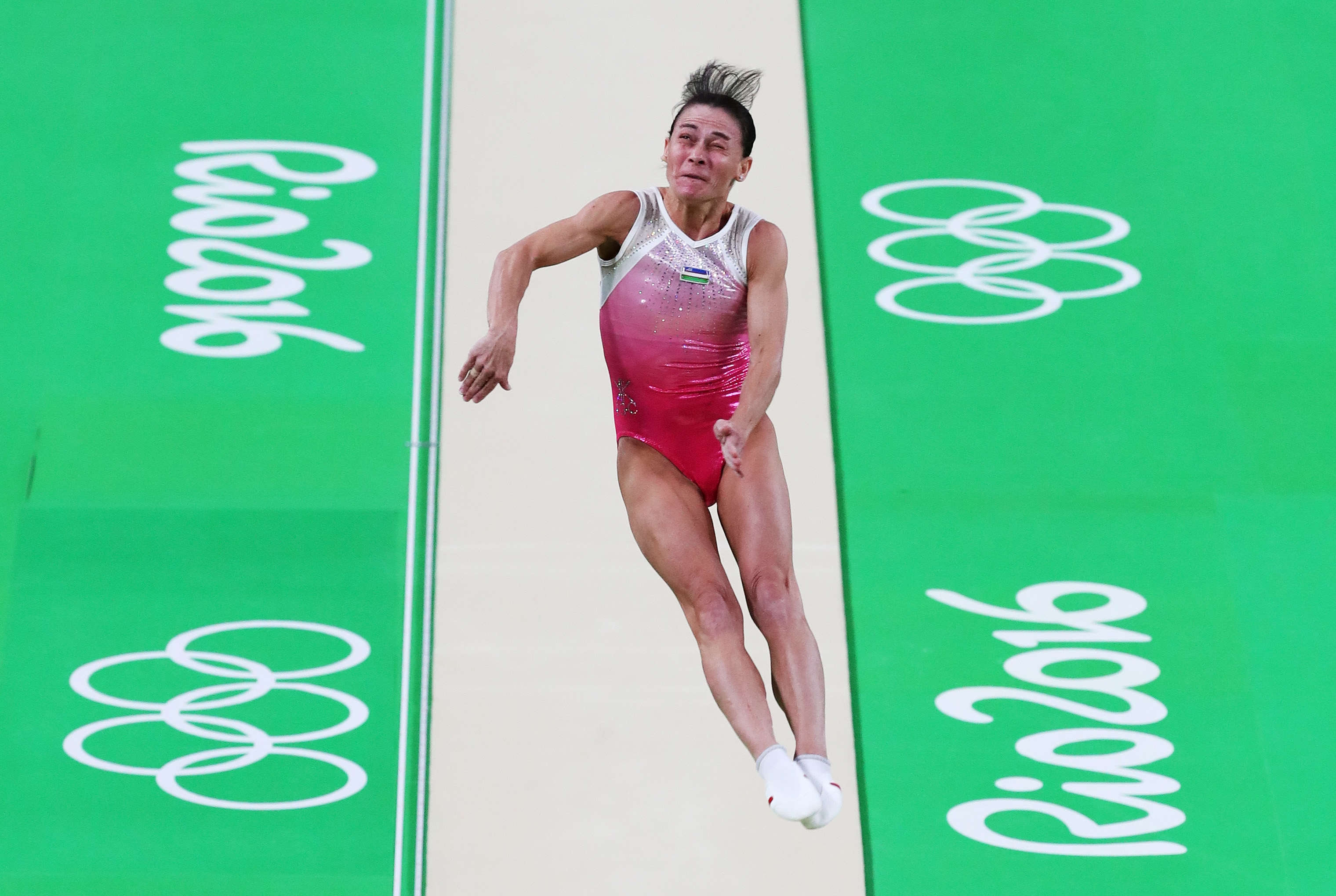 GettyImages 586885438 This 41 Year Old Olympic Gymnast Keeps Competing For Inspirational Reason