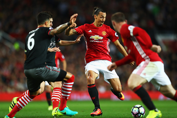 Manchester United Legend Has Some Interesting Views On Zlatan Ibra Getty MU Southampton
