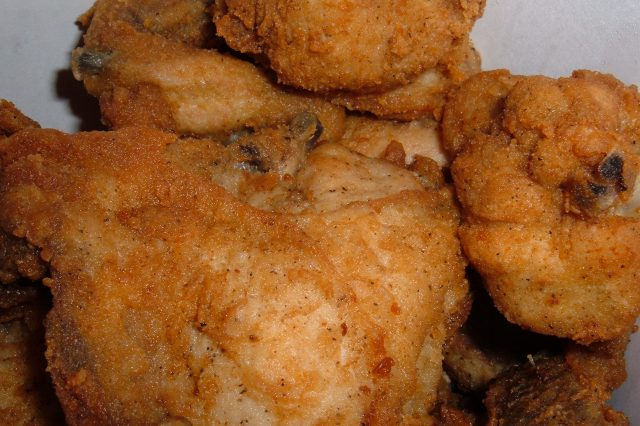 KFC Original Recipe chicken in bucket 640x426 KFC's Secret Recipe Discovered In Old Scrapbook