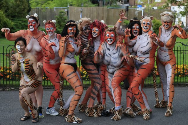 PA 28319369 640x426 These People Just Ran Naked Through London Zoo For Incredible Reason