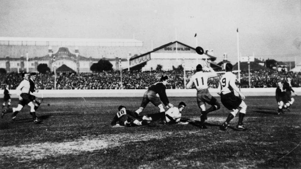Queensland vs New South Wales ca. 1920 Brisbane Fiji Wins First Gold Medal Ever, Country Loses It