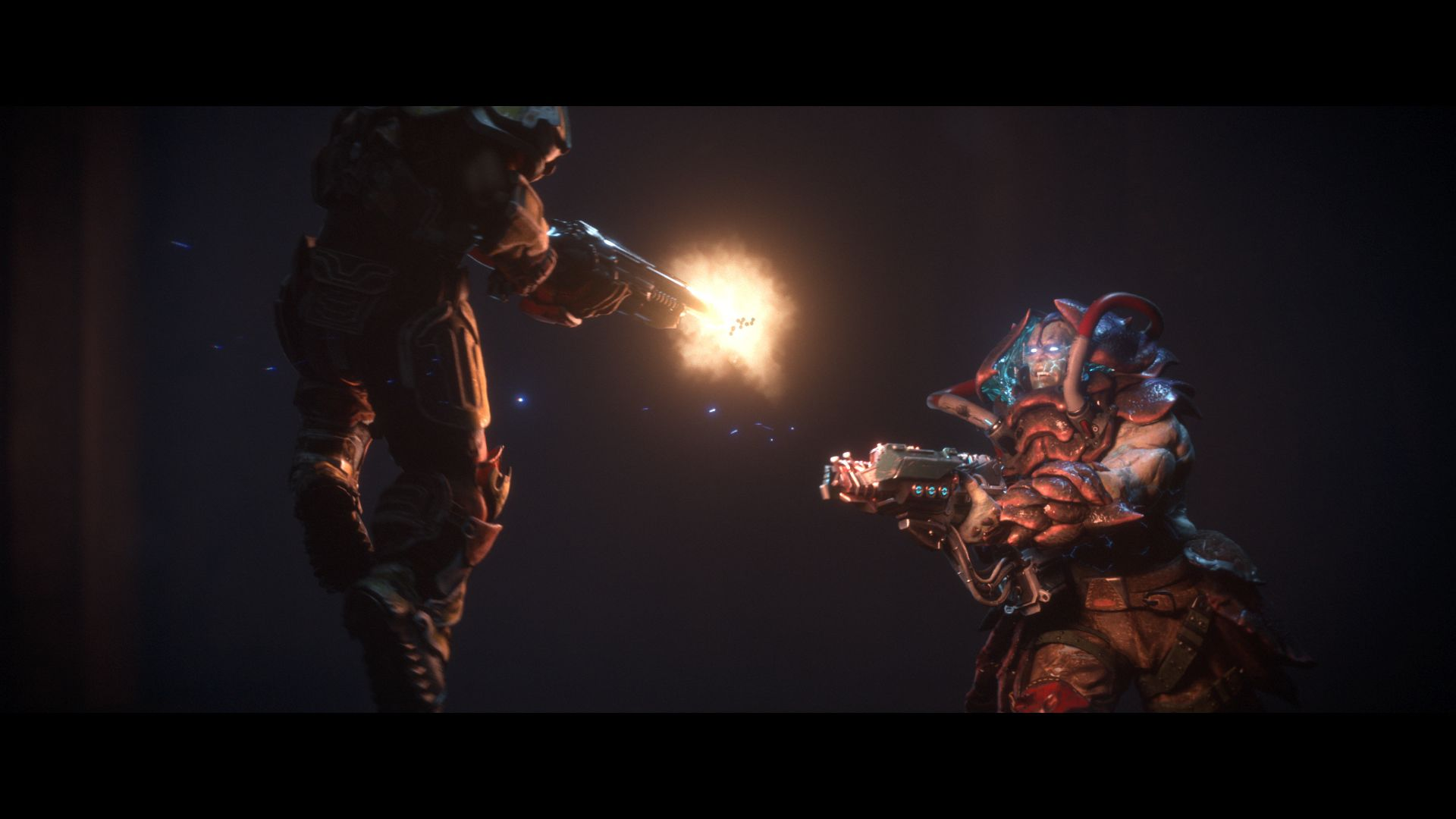 action shot e3 announce trailer Check Out Quake Champions First Gameplay Trailer