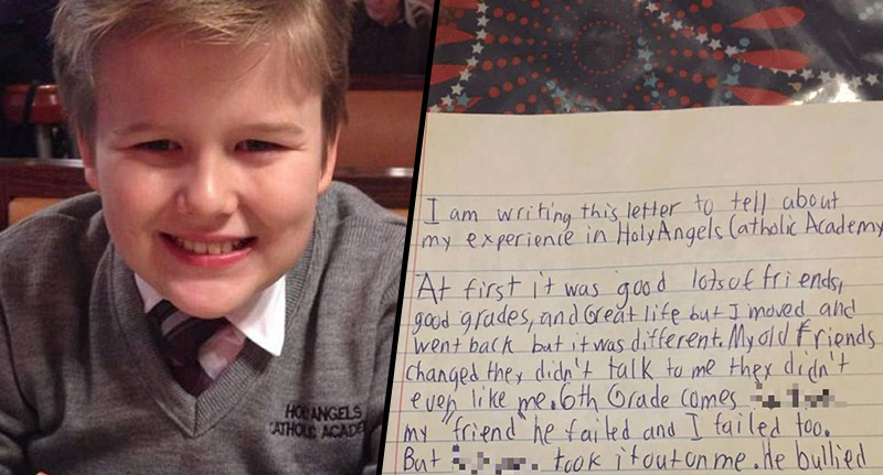 Image result for Heartbreaking Final Letter Of Bullied Schoolboy Who Committed Suicide