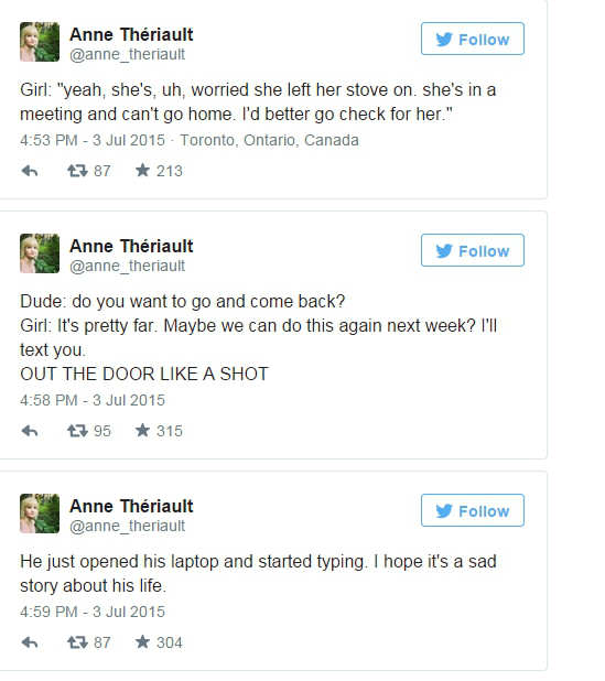 Girl Live Tweets Strangers Nightmare Date With Absolute Hipster W*nker dd