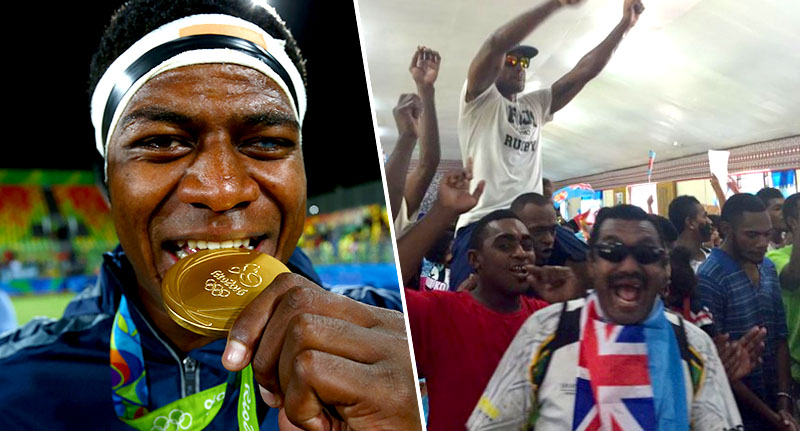fiji Fiji Wins First Gold Medal Ever, Country Loses It