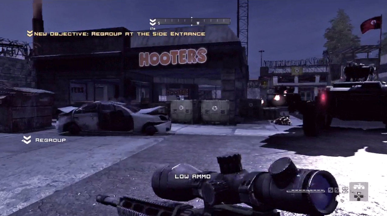 homefront firesale 12 Nine Super Weird Examples Of Product Placement In Videogames