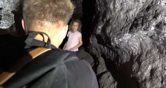 lost girl Explorers Make Unbelievable Discovery In Cave Deep Underground