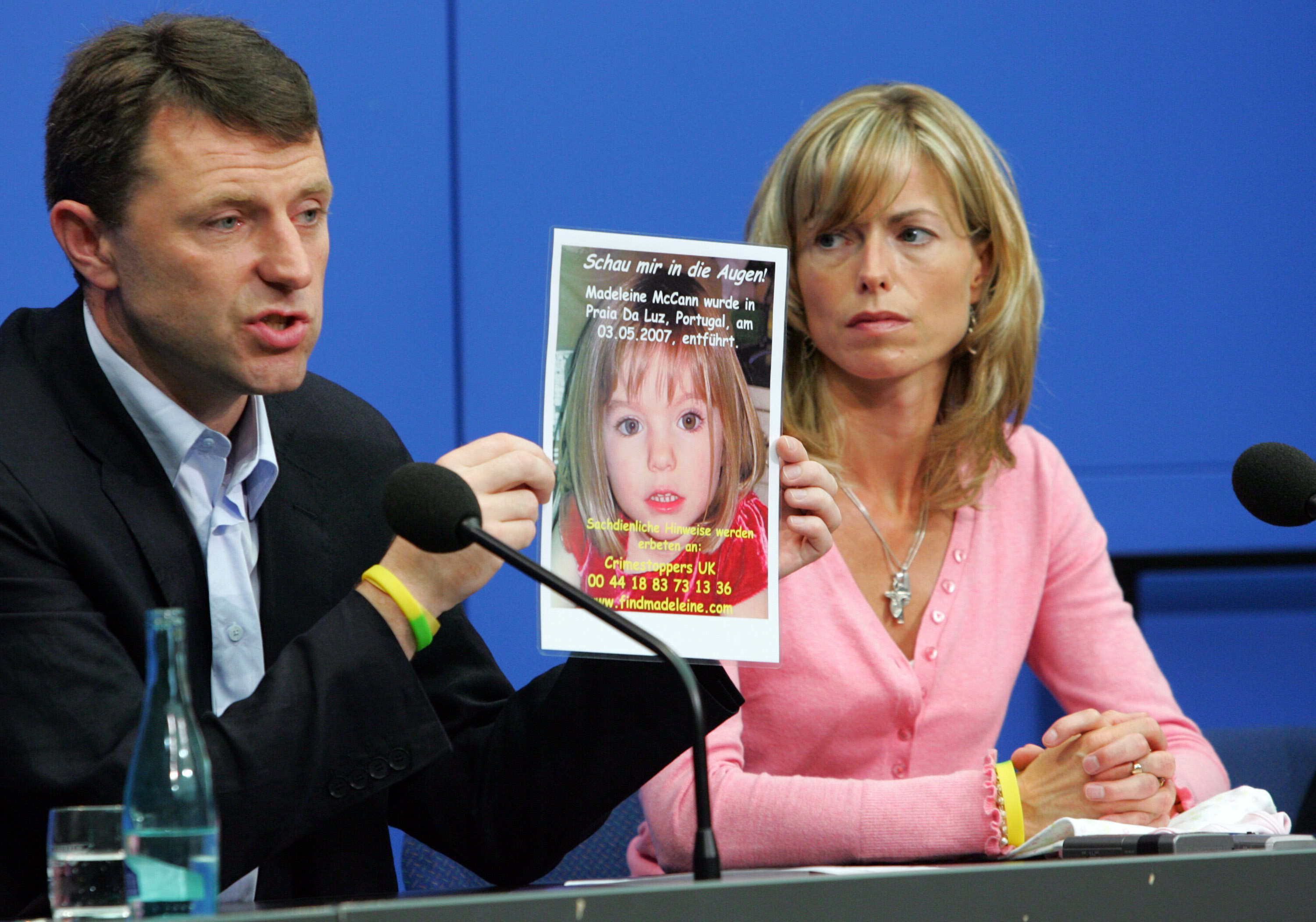 mccann1 Police Searching For Madeleine McCann End Forensic Investigation To Save Money