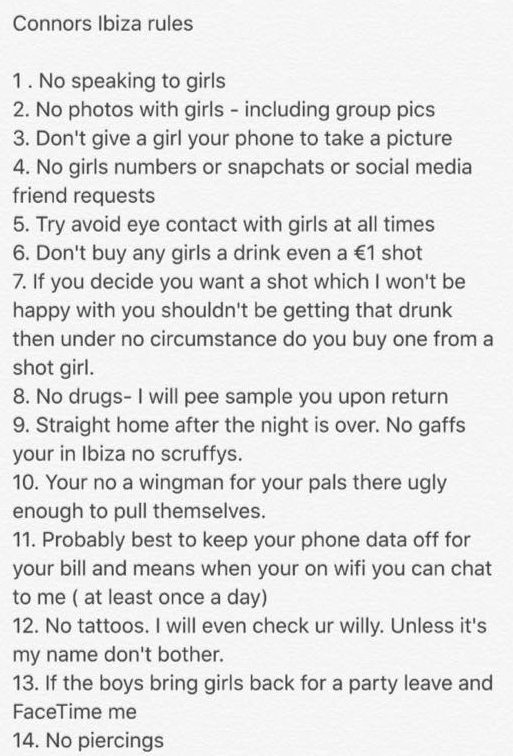 nintchdbpict000261925230 e1472168013476 Teen Millionaire Gives Boyfriend Ridiculous List Of Rules For Lads Holiday