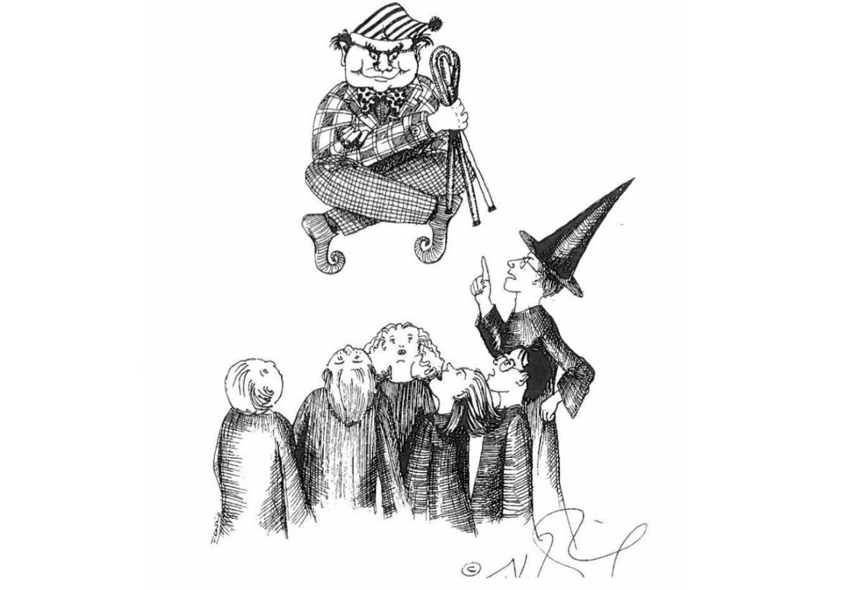 potter 1 JK Rowling Just Released Some Amazing Early Sketches Of Harry Potter Characters